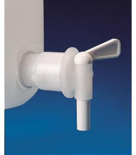 TAP SPARE FOR STORAGE BOTTLES HDPE,3/4 BSP thread, outlet od: 11mm