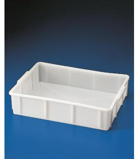 TRAY STACKABLE DEEP HDPE