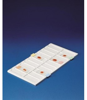 TRAY FOR SLIDES PVC